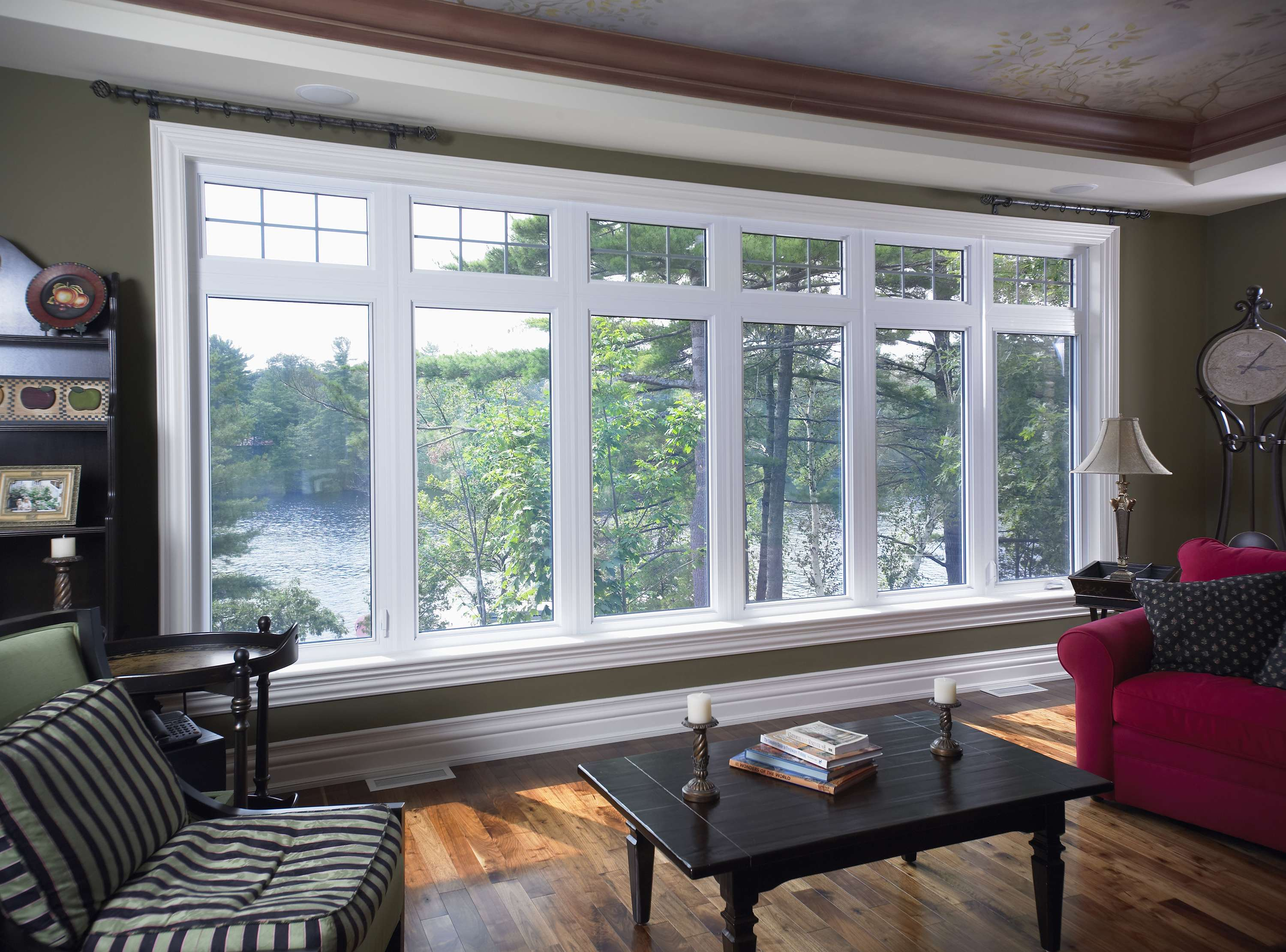 How much does a standard window cost brock doors for Cottage style double hung windows
