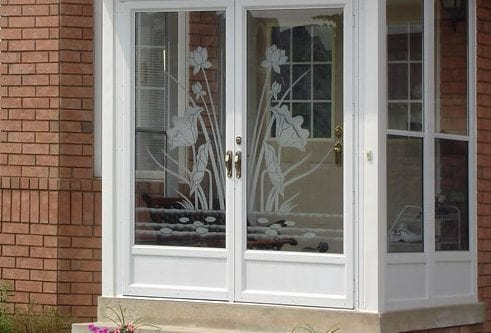 York Aluminum Storm Door from Brock