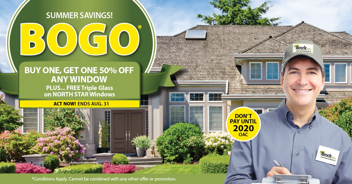 Canada Day Sale! 35% Off All Windows and Doors